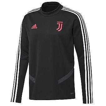 2019-2020 Juventus Adidas Training Top (Black) - Kids