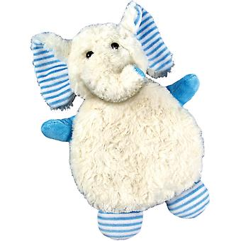 Children's Faux Fur & Fleece Cherry Pit Pillow: Elephant