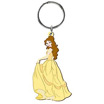 PVC sleutelhanger-Disney-Princess-Belle soft touch speelgoed nieuwe 23737
