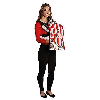Popcorn zak draagzak