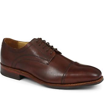 Goodyear welted leather derby - shoe