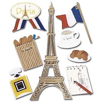 Jolee's Boutique Dimensional Destination Sticker Paris Spje 010