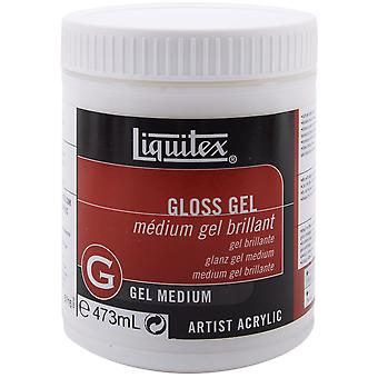 Liquitex Gloss Gel Medium 16 Ounces 5716