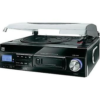 USB turntable Dual DTTC 100 Belt drive Black