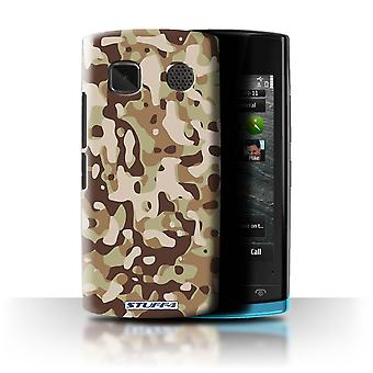 STUFF4 Case/Cover for Nokia 500/Brown 3/Camouflage Army Navy