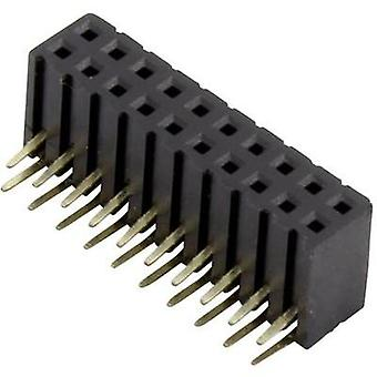 Receptacles (standard) No. of rows: 2 Pins per row: 10 Connfly DS1026-13-2*10S8BR 1 pc(s)