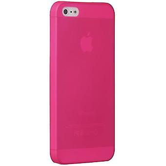 Ozaki OC533PK O! Coat jelly slim 0.3 mm cover case iPhone SE 5 / 5S pink