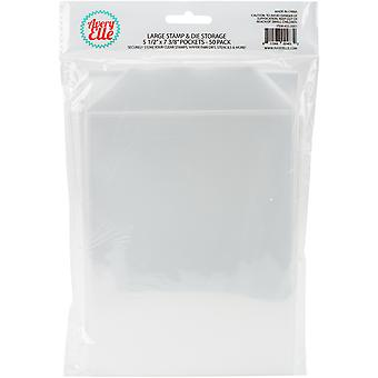 Avery Elle Stamp & Die Storage Pockets 50/Pkg-Large 5.5