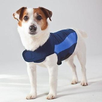 Thundershirt For hunde blå Polo ekstra små
