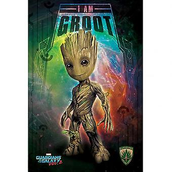 Vogtere af Galaxy 2 plakat Groot 205