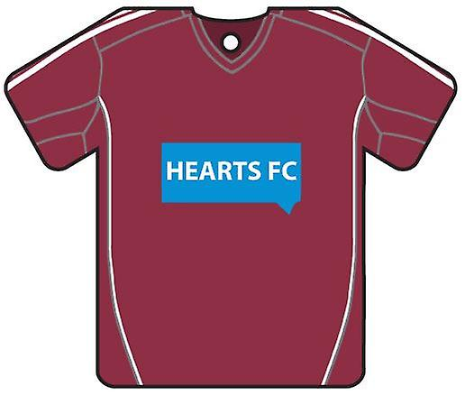 Personalised Hearts FC Football Shirt Car Air Freshener