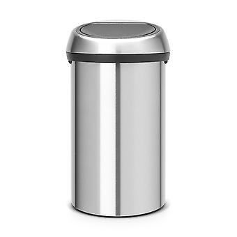 Brabantia Touch Bin 60 L in Matt Steel Fingerprint Proof