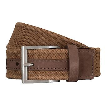 SAKLANI & FRIESE belts men's belts woven belt Brown 5426