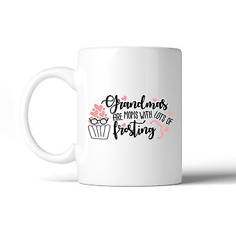 Grandmas Are Moms With Frosting Mug Grandma Gifts For Mothers Day