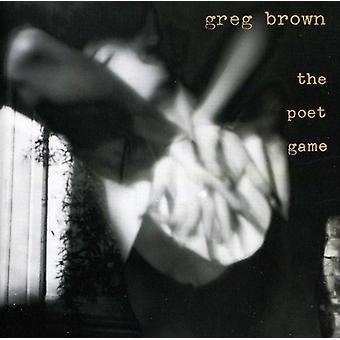 Greg Brown - digter spil [CD] USA import