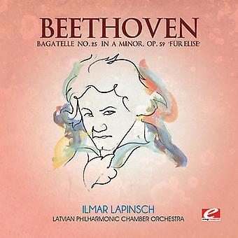 L.V. Beethoven - Bagatelle 25 in a Minor [CD] USA import