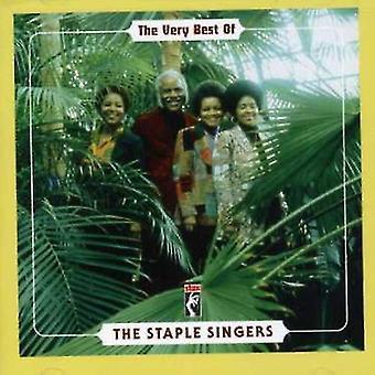 Hæft sangere - allerbedste af Staple Singers [CD] USA importen