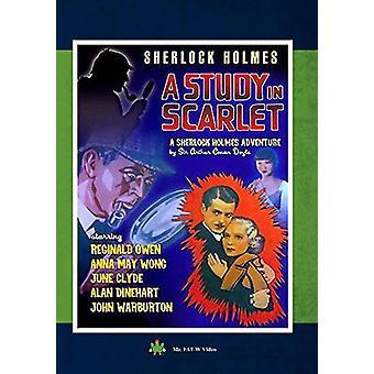 Sherlock Holmes: Studio in importazione scarlatto [DVD] Stati Uniti d'America