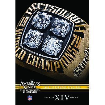 NFL Amerika spil: 1979 Steelers (Super Bowl Xiv) [DVD] USA importerer