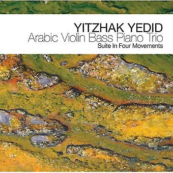 Yitzhak Yedid - arabisk Violin Bas klavertrio [CD] USA import