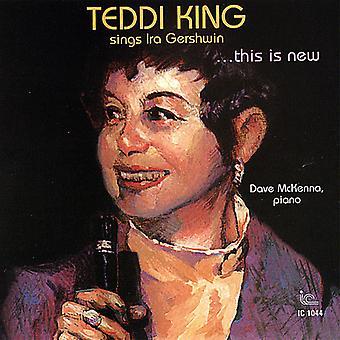 King/McKenna - dette er nyt: Teddi King Sings Ira Gershwin [CD] USA import