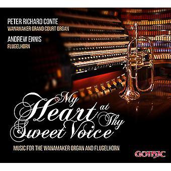 Saint-Saens / Conte, Peter Richard / Ennis, Andrew - My Heart på Thy sød stemme - musik for Wanamakern [CD] USA import