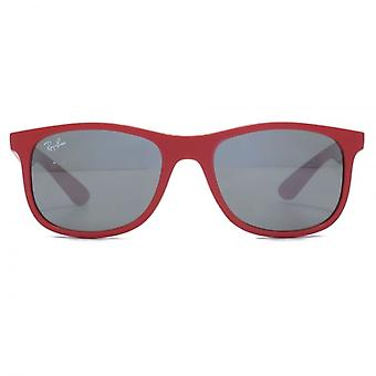 Ray-Ban Junior Wayfarer Sunglasses In Matte Red