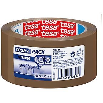 Tesa Strong Pp Pack Acrylic Silent Brown 66Mx50Mm (DIY , Hardware , Glues and adhesives)