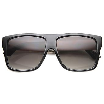 Unisex Square Sunglasses With UV400 Protected Gradient Lens