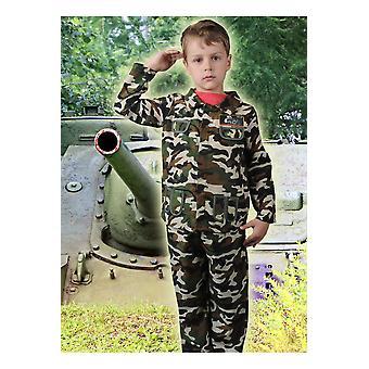 Children's costumes Boys Army boy soldier