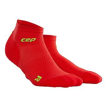 CEP Herre gå sock dynamisk + ultralet low-cut - rød