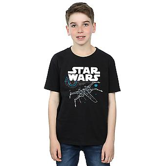 Star Wars l'ultimo Jedi X-Wing t-shirt