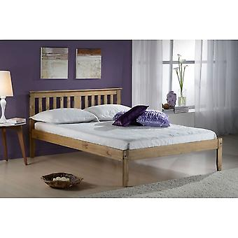 Birlea 120cm Salvador Bed Waxed Pine