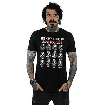 Friday 13th Men's The Many Moods Of Jason Voorhees T-Shirt