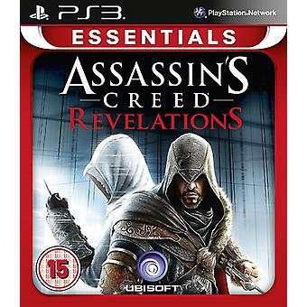 Assassins Creed åpenbaringer Essentials utgave PS3 spill