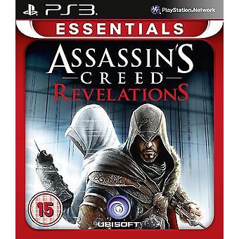 Assassins Creed Revelations Essentials Edition PS3-Spiel