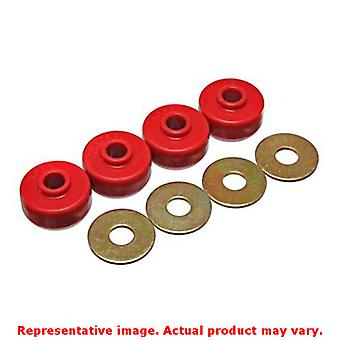 Energy Suspension Leaf Spring Bushing Set 3.2123R Red Rear Fits:CHEVROLET 1984