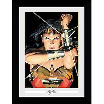DC Comics Wonder Woman Ross Collector Print 50x70cm