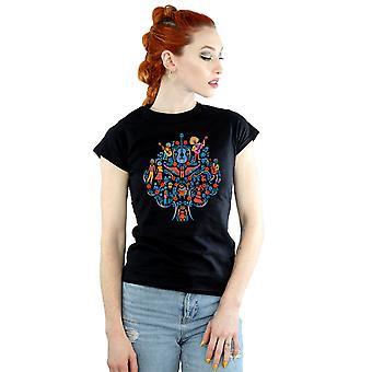 Disney Women's Coco Tree Pattern T-Shirt