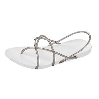 Ipanema With Starck Thing G Womens Flip Flops / Sandals - White and Smoke