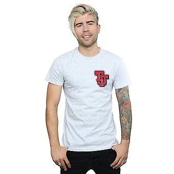 Tom And Jerry Men's Collegiate Logo T-Shirt