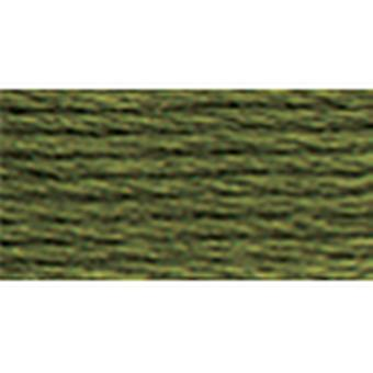 Dmc Tapestry & Embroidery Wool 8.8 Yards Very Dark Drab Olive 486 7377