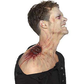 Halloween and horror  Latex bite wound