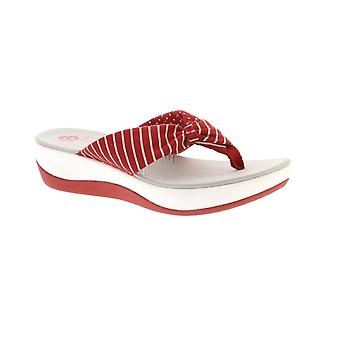 Clarks Arla Glison - Sandals Womens stampa rossa (tessile)
