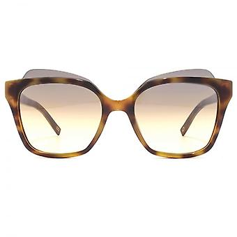 Marc Jacobs Contemporary Square Sonnenbrillen In Havanna
