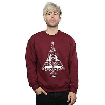 Disney Men's Frozen Christmas Tree Sweatshirt