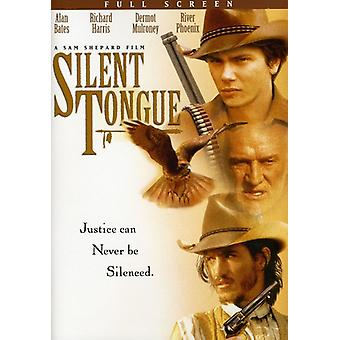 Silent Tongue [DVD] USA import