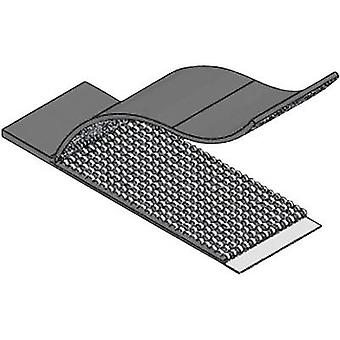 Hook-and-loop cable tie stick-on Hook and loop pad (L x W x H) 52.3 x 19.8 x 1