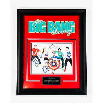 The Big Bang Theory - Signed by all Actors from Sitcom - Framed Artist Series
