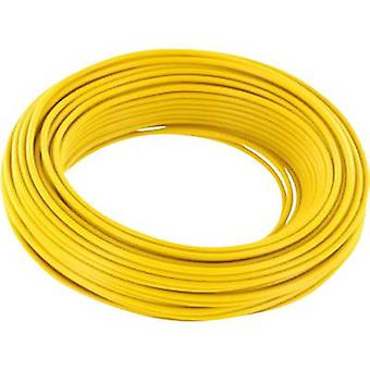 Strand 1 x 0.14 mm² Yellow BELI-BECO L118/10 ge